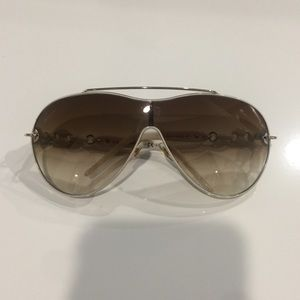 GUCCI  EXQUISITE AVIATOR SUNGLASSES